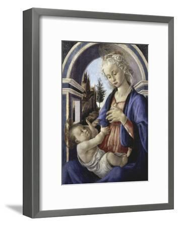 Virgin and Child-Sandro Botticelli-Framed Giclee Print