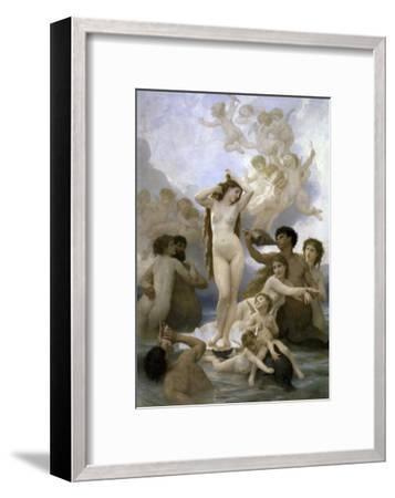 Naissance de Venus-William Adolphe Bouguereau-Framed Giclee Print