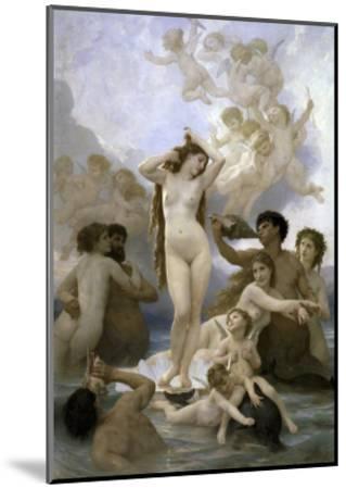 Naissance de Venus-William Adolphe Bouguereau-Mounted Giclee Print