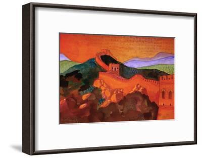 Great Wall of China-John Newcomb-Framed Giclee Print