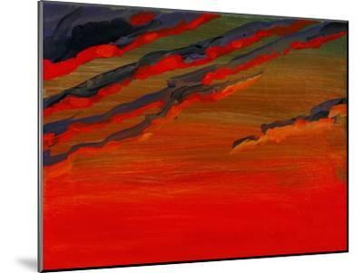 Sky Portrait of a Sunset-John Newcomb-Mounted Giclee Print