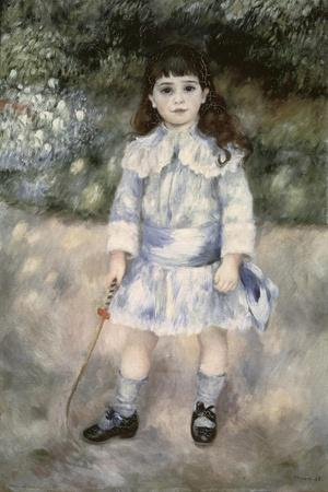 Child with a Whip-Pierre-Auguste Renoir-Stretched Canvas Print