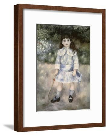 Child with a Whip-Pierre-Auguste Renoir-Framed Giclee Print