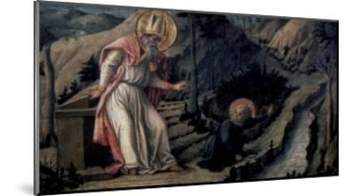 Vision of Saint Augustine, c.1452-1465-Filippo Lippi-Mounted Giclee Print
