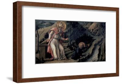 Vision of Saint Augustine, c.1452-1465-Filippo Lippi-Framed Giclee Print