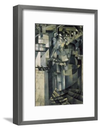 Life in a Big Hotel-Kasimir Malevich-Framed Giclee Print