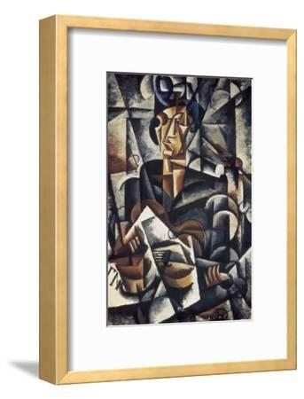 Lady with the Guitar-Liubov Sergeevna Popova-Framed Giclee Print