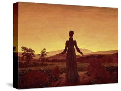 Morning Light-Caspar David Friedrich-Stretched Canvas Print