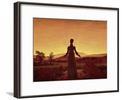 Morning Light-Caspar David Friedrich-Framed Giclee Print