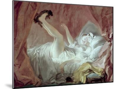 La Giambette-Jean-Honor? Fragonard-Mounted Giclee Print