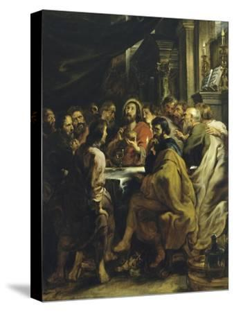The Last Supper-Peter Paul Rubens-Stretched Canvas Print