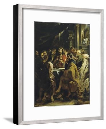 The Last Supper-Peter Paul Rubens-Framed Giclee Print