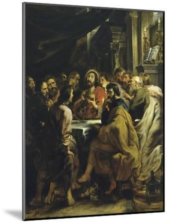 The Last Supper-Peter Paul Rubens-Mounted Giclee Print