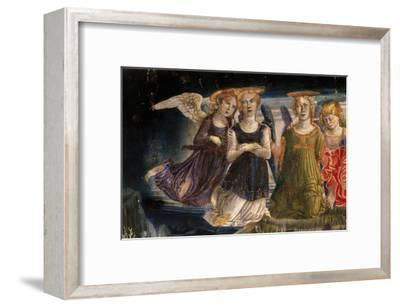 Detail of the Nativity Angel-Benvenuto Di Giovanni Guasta-Framed Giclee Print