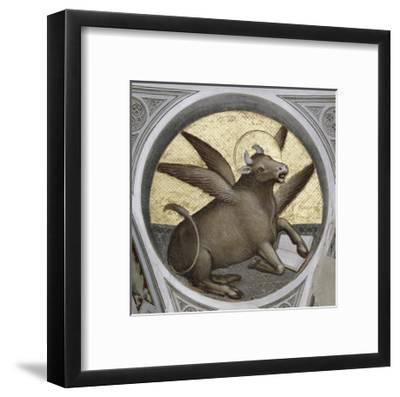 Saint Luke as an Ox-Giusto De' Menabuoi-Framed Giclee Print