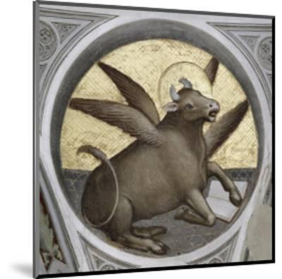 Saint Luke as an Ox-Giusto De' Menabuoi-Mounted Giclee Print