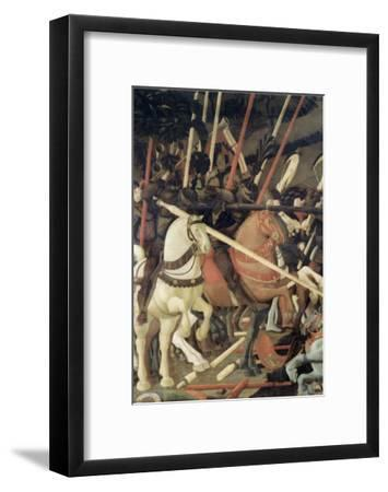 Battle of San Romano-Paolo Uccello-Framed Giclee Print