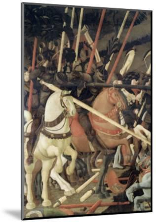 Battle of San Romano-Paolo Uccello-Mounted Giclee Print