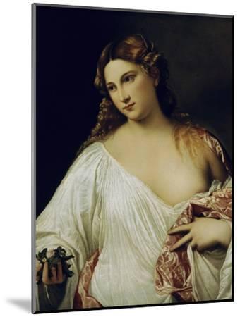 Flora-Titian (Tiziano Vecelli)-Mounted Giclee Print