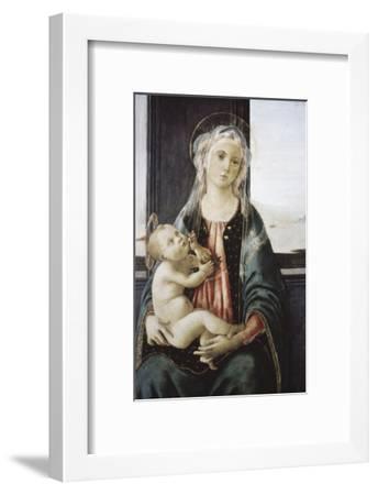 Madonna Del Mare-Sandro Botticelli-Framed Giclee Print