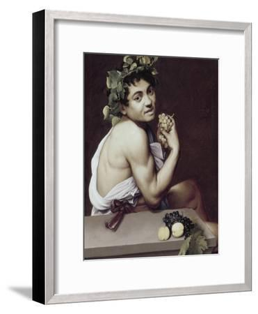 Sick Bacchus-Caravaggio-Framed Giclee Print
