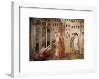 Healing of the Cripple-Masaccio-Framed Giclee Print