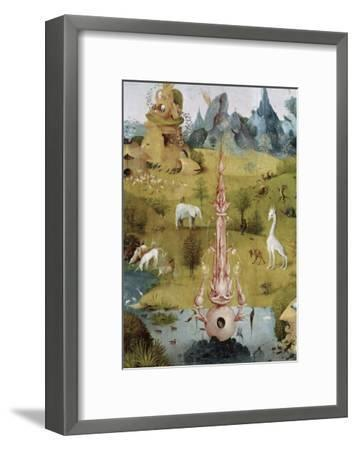 Detail of Garden of Earthly Delights, no.2, c.1505-Hieronymus Bosch-Framed Giclee Print