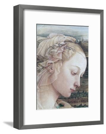 Detail of Madonna and Child-Filippino Lippi-Framed Giclee Print