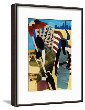 Freedom's Mission-Gil Mayers-Framed Giclee Print