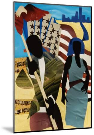 Freedom's Mission-Gil Mayers-Mounted Giclee Print