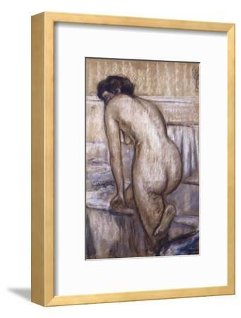 The Bath-Edgar Degas-Framed Giclee Print