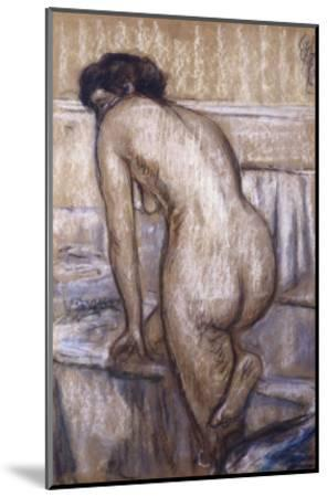 The Bath-Edgar Degas-Mounted Giclee Print