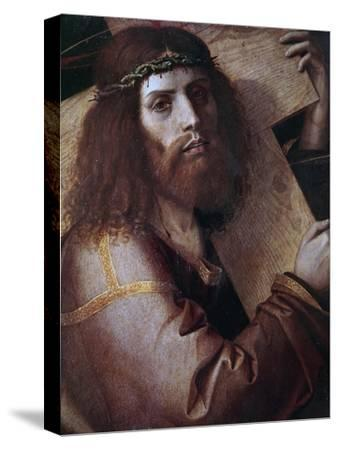 The Cross Bearing Christ-Bartolomeo Montagna-Stretched Canvas Print