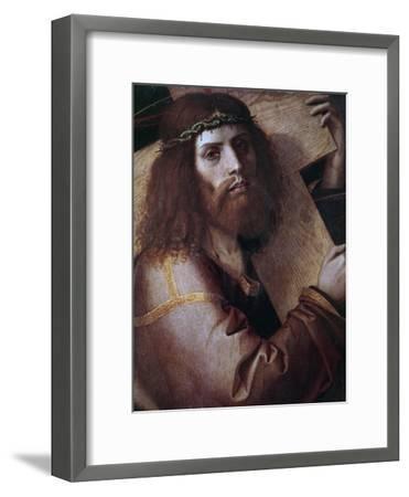 The Cross Bearing Christ-Bartolomeo Montagna-Framed Giclee Print