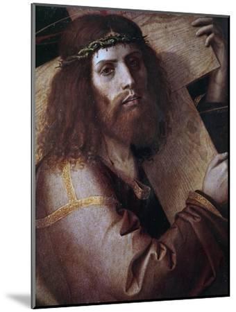 The Cross Bearing Christ-Bartolomeo Montagna-Mounted Giclee Print