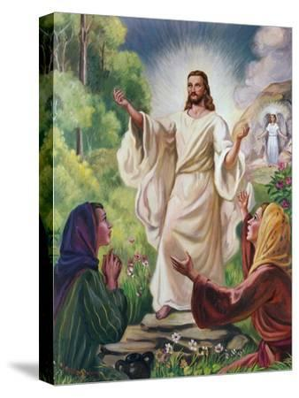 Jesus Has Risen-Vittorio Bianchini-Stretched Canvas Print