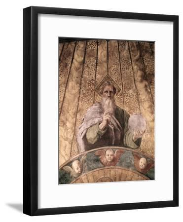 Detail of La Disputa-Raphael-Framed Giclee Print
