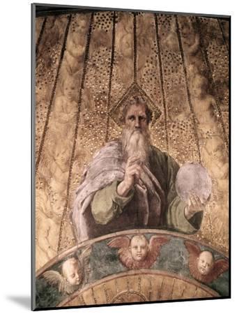 Detail of La Disputa-Raphael-Mounted Giclee Print