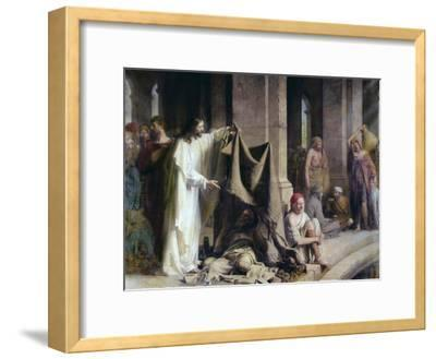The Pool of Bethesda-Carl Bloch-Framed Giclee Print