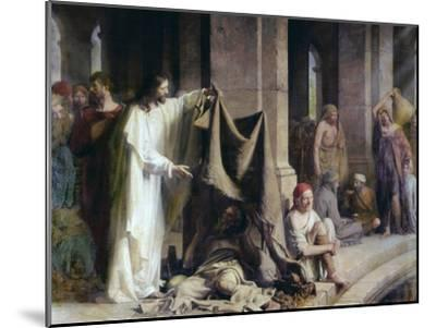 The Pool of Bethesda-Carl Bloch-Mounted Giclee Print