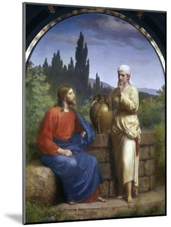 Christ and the Woman of Samaria-Anton Laurids Johannes Dorph-Mounted Giclee Print