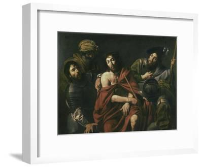 Jesus Insulted by the Soldiers-Jean Valentin De Boulogn-Framed Giclee Print