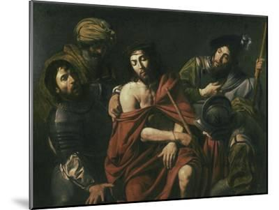 Jesus Insulted by the Soldiers-Jean Valentin De Boulogn-Mounted Giclee Print