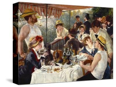 Luncheon of the Boating Party-Pierre-Auguste Renoir-Stretched Canvas Print