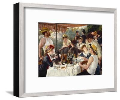 Luncheon of the Boating Party-Pierre-Auguste Renoir-Framed Premium Giclee Print