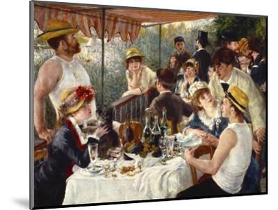 Luncheon of the Boating Party-Pierre-Auguste Renoir-Mounted Premium Giclee Print