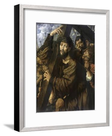 Christ Bearing the Cross-Jan Sanders van Hemessen-Framed Giclee Print