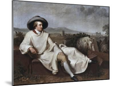 Portrait of Goethe-Johann Friedrich August Tischbein-Mounted Giclee Print