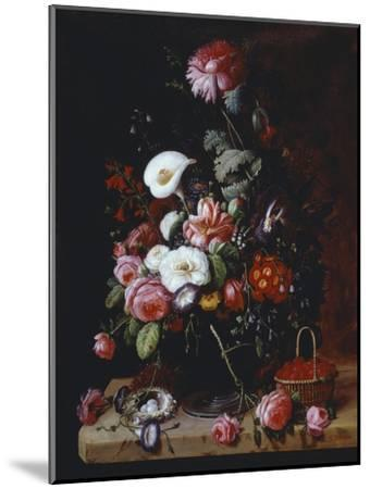Floral Still Life-Severin Roesen-Mounted Giclee Print