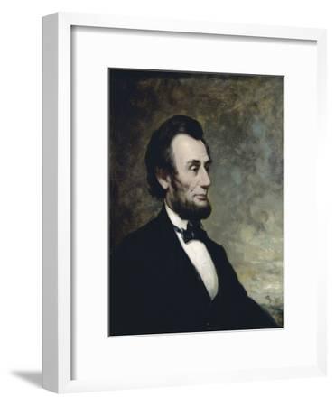 Abraham Lincoln-George Henry Story-Framed Giclee Print